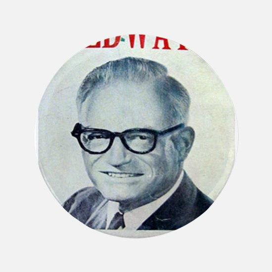 "Cute Barry goldwater 3.5"" Button"