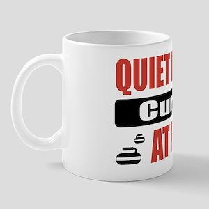 Curler Work Mug