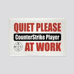 CounterStrike Player Work Rectangle Magnet