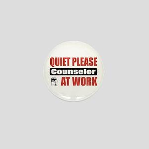 Counselor Work Mini Button