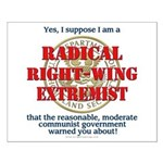 Right-Wing Extremist Small Poster