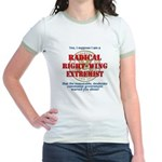 Right-Wing Extremist Jr. Ringer T-Shirt