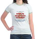 Right-Wing Extremist Jr. Ringer T-Shirt