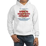 Right-Wing Extremist Hooded Sweatshirt