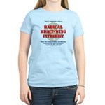 Right-Wing Extremist Women's Light T-Shirt