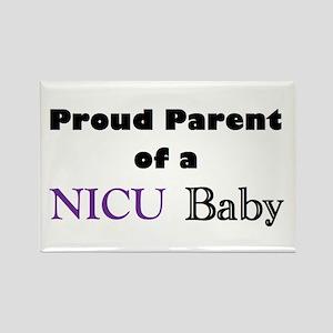 Proud Parent of a NICU Baby Rectangle Magnet