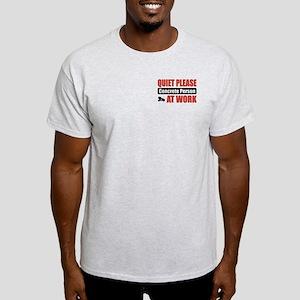 Concrete Person Work Light T-Shirt