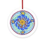 Mandala Stars Round Ornament