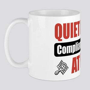 Compliance Person Work Mug