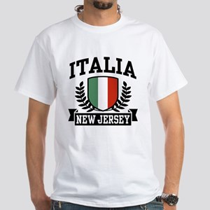 Italia New Jersey White T-Shirt