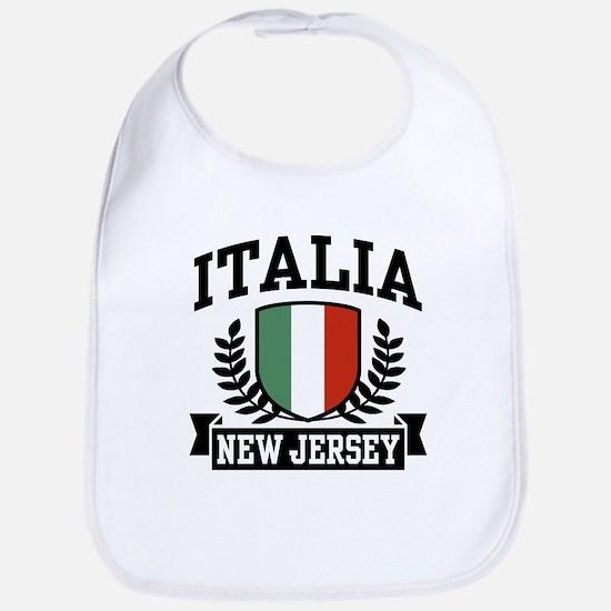 Italia New Jersey Bib