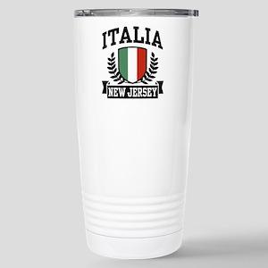 Italia New Jersey Stainless Steel Travel Mug