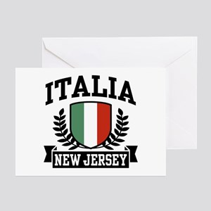 Italia New Jersey Greeting Cards (Pk of 10)