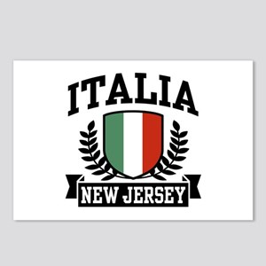 Italia New Jersey Postcards (Package of 8)