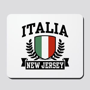 Italia New Jersey Mousepad