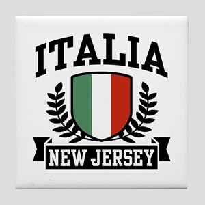 Italia New Jersey Tile Coaster