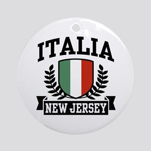Italia New Jersey Ornament (Round)