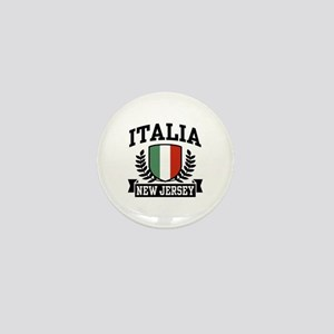 Italia New Jersey Mini Button