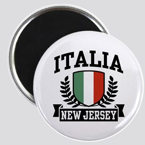 Italia New Jersey Magnet