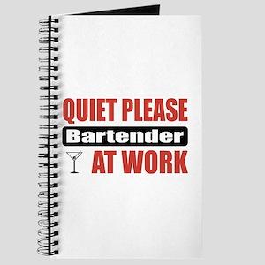 Bartender Work Journal