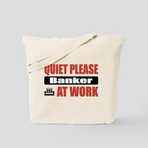 Banker Work Tote Bag