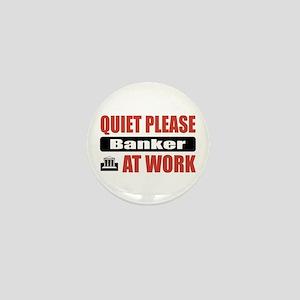 Banker Work Mini Button