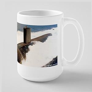 columbus sticker Stainless Steel Travel Mugs