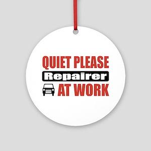 Repairer Work Ornament (Round)