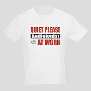 Audiologist Work Kids Light T-Shirt