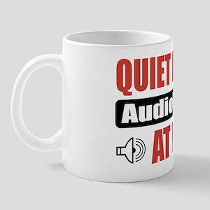 Audiologist Work Mug