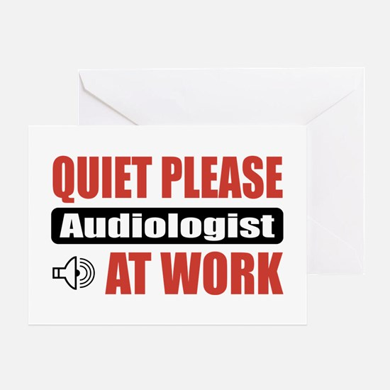 Audiologist Work Greeting Card