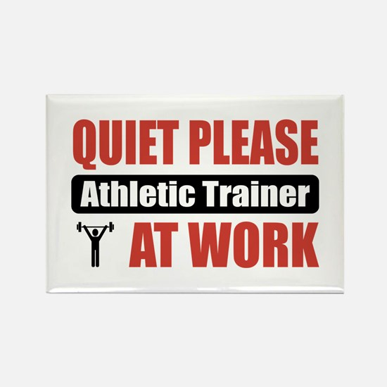 Athletic Trainer Work Rectangle Magnet