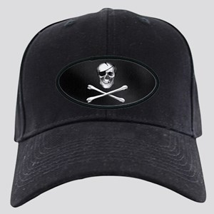 Jolly Roger Black Cap
