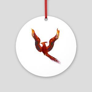Phoenix Rising Ornament (Round)