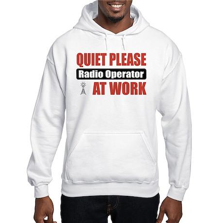 Radio Operator Work Hooded Sweatshirt