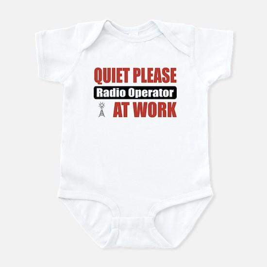 Radio Operator Work Infant Bodysuit