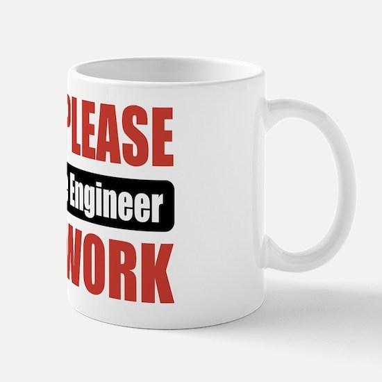 Aerospace Engineer Work Mug