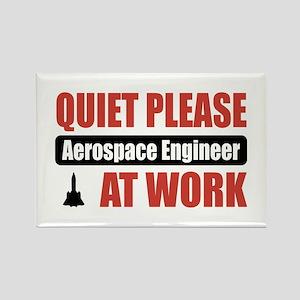 Aerospace Engineer Work Rectangle Magnet