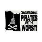 Congressional Pirates Rectangle Magnet (10 pack)