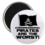"""Congressional Pirates 2.25"""" Magnet (100 pack)"""