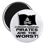 Congressional Pirates Magnet