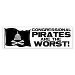 Congressional Pirates Bumper Sticker (50 pk)