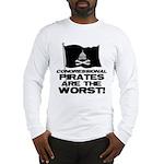 Congressional Pirates Long Sleeve T-Shirt