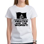 Congressional Pirates Women's T-Shirt