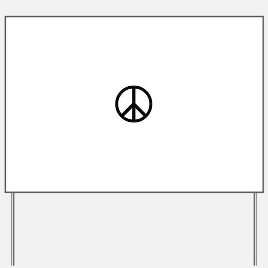 Unique Woodstock Yard Sign