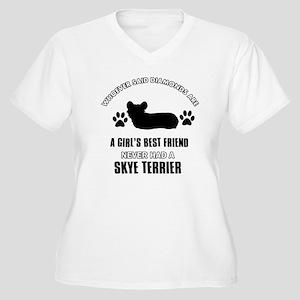 Skye Terrier Mommy Designs Plus Size T-Shirt