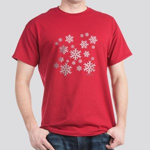 Celtic Knotwork Snowflake Dark T-Shirt