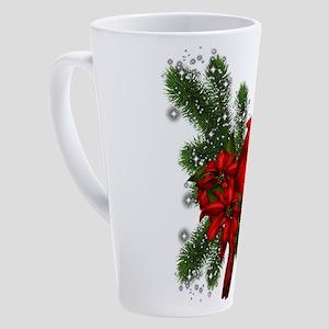 CARDINAL/PINE 17 oz Latte Mug