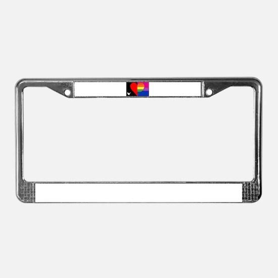 Funny Gandhi License Plate Frame