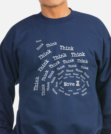 Chess Think & Move Sweatshirt (dark)